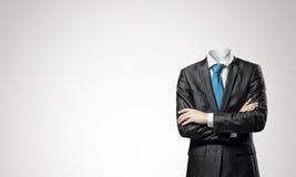 Homme d'affaires sans tête photographie stock libre de droits