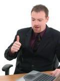 Homme d'affaires, serveur Images stock