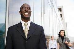 Homme d'affaires Smiling Photographie stock libre de droits