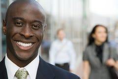 Homme d'affaires Smiling Photos libres de droits