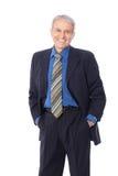Homme d'affaires supérieur Image stock