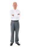 Homme d'affaires supérieur asiatique Images stock