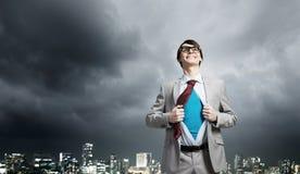 Homme d'affaires superbe déterminé Photo libre de droits