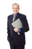 Homme d'affaires supérieur Image libre de droits