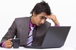 Homme d'affaires triste photo stock