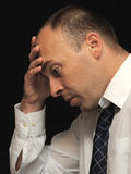 Homme d'affaires triste images libres de droits