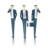 Homme d'affaires Vector Illustration Image libre de droits