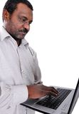 Homme d'Afro-américain Photos stock