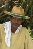 Homme d'Afro-américain, verticale Photos stock