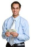 Homme d'argent Image libre de droits