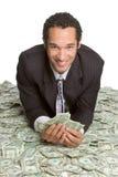Homme d'argent d'affaires Photo stock