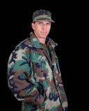 Homme d'armée Images stock