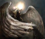 Homme d'Eagle illustration stock