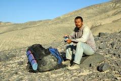 homme d'expédition image stock