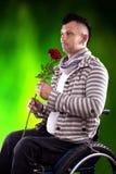 Homme dans l'amour Photos libres de droits