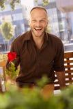 Homme dans l'amour Photo libre de droits