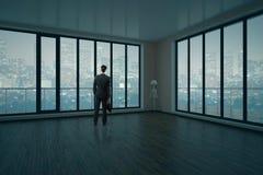Homme dans l'intérieur Image libre de droits