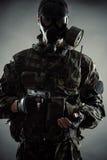 Homme dans l'uniforme Image libre de droits