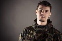 Homme dans l'uniforme Photographie stock