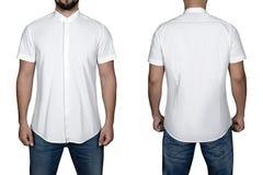 Homme dans la chemise Photographie stock libre de droits