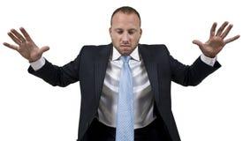 Homme dans la colère Photographie stock