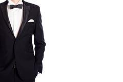 Homme dans le costume Photographie stock libre de droits