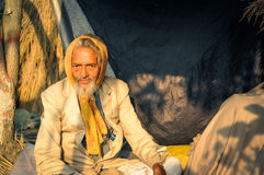 Homme dans le costume dans le Bengale-Occidental Images stock