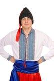 Homme dans le costume national ukrainien photos libres de droits