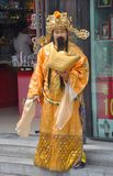 Homme dans le costume traditionnel chinois Images libres de droits