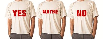Homme dans le T-shirt blanc Photo libre de droits