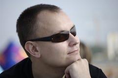 Homme dans les sunglass Images libres de droits