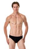 Homme dans les vêtements de bain Image libre de droits