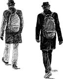 Homme dans un chapeau Image libre de droits