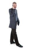 Homme avec le téléphone Photographie stock libre de droits