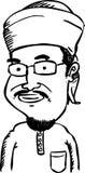 Homme de bande dessinée Image libre de droits