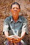 homme de basarwa photographie stock libre de droits