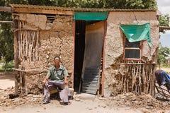 homme de basarwa images libres de droits