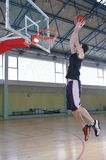 Homme de basket-ball Image stock
