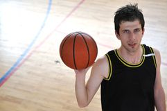 Homme de basket-ball Images stock