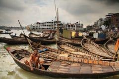 homme de bateau Photo libre de droits