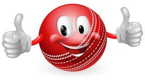 Homme de bille de cricket Images stock