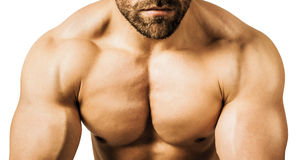 Homme de bodybuilding Image stock