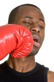 Homme de boxe Photo stock