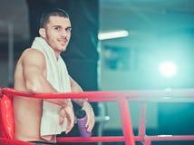 Homme de boxeur images stock