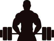 Homme de concept de gymnastique Image libre de droits