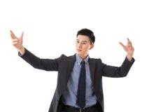 Homme de conducteur d'affaires Photo stock