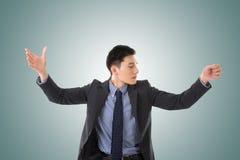 Homme de conducteur d'affaires Image stock