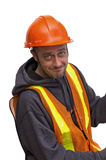 Homme de construction Image stock