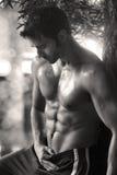 Homme de couleur chamois sexy Photographie stock libre de droits