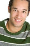 Homme de couleur de sourire Photographie stock libre de droits